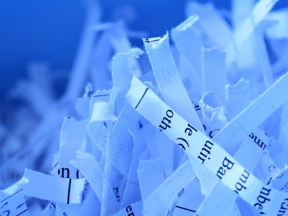Certified Document Shredding